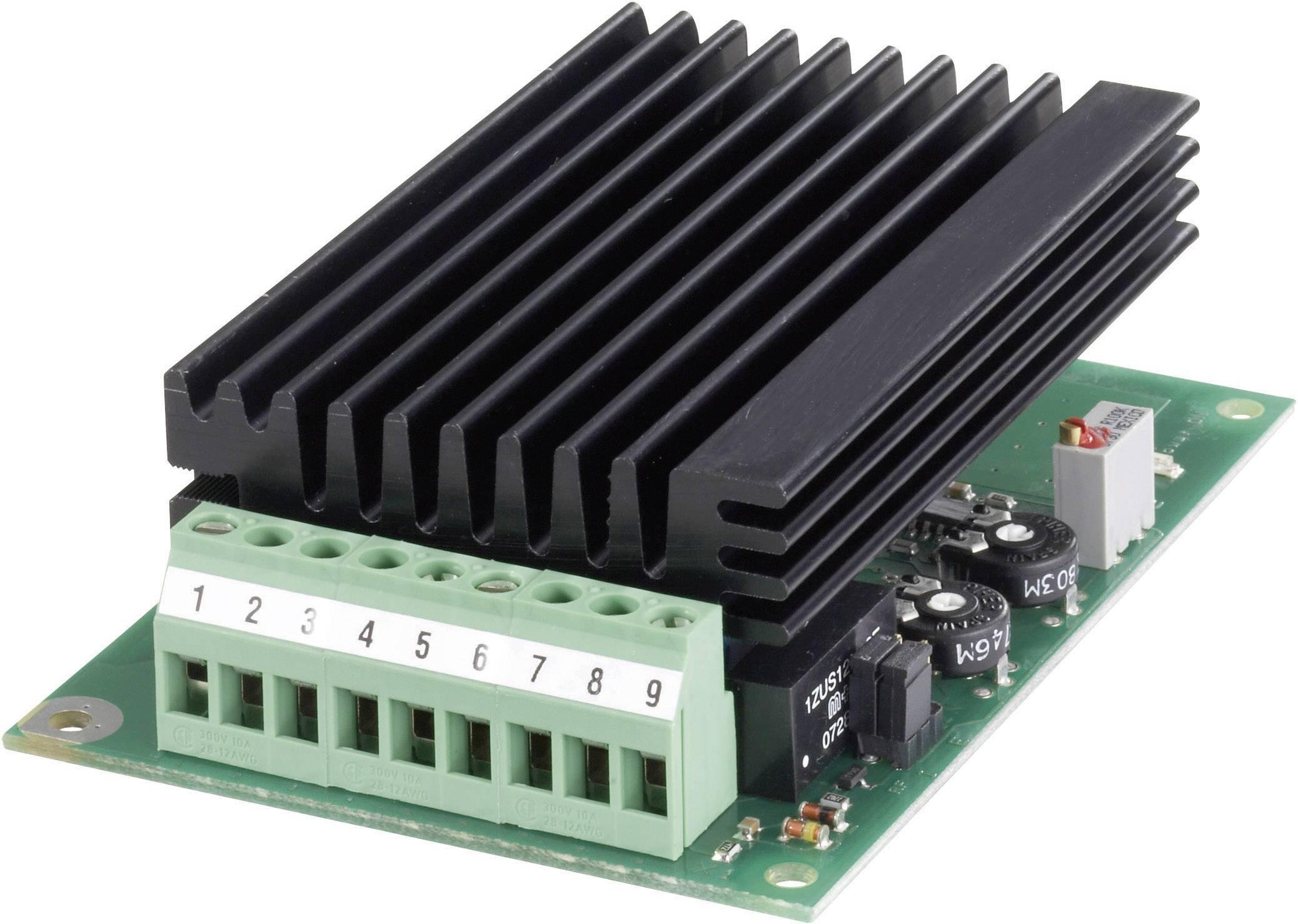 Regulátor otáčok pre DC motory EPH Elektronik GS24S/03/P 360B.03.2/2220, 3 A, 24 V/DC