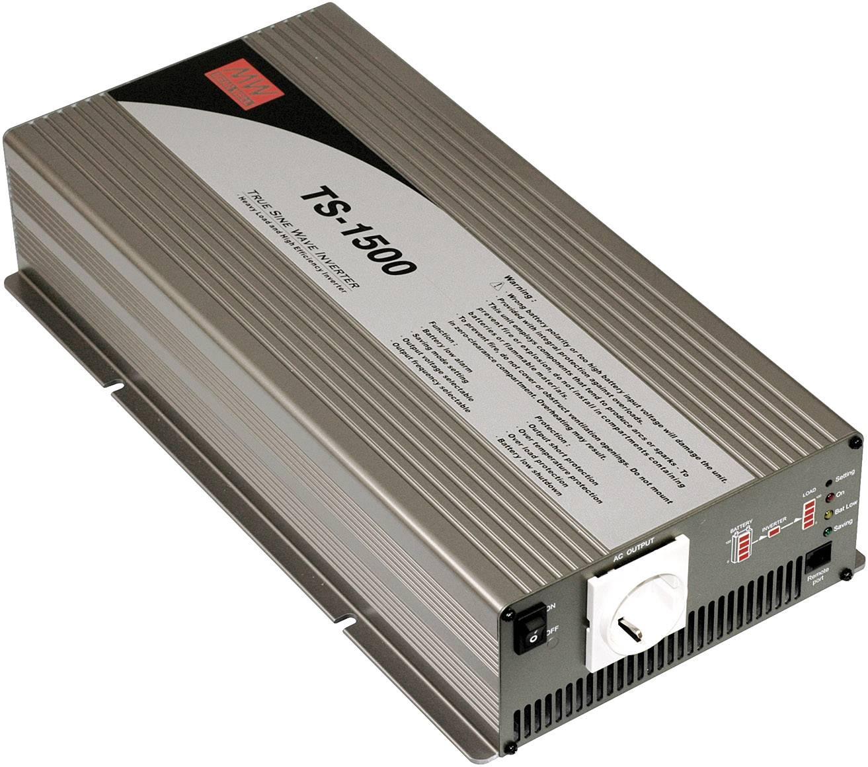 Menič napätia DC / AC Mean Well TS-1500-212B, 1500 W, 12 V/DC/1500 W