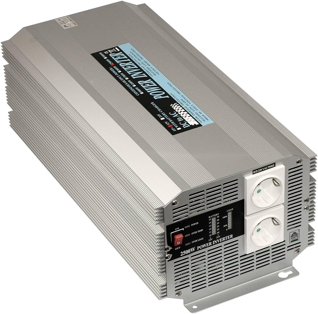 Menič napätia DC / AC Mean Well A301-2K5-F3, 2500 W, 12 V/DC/2500 W