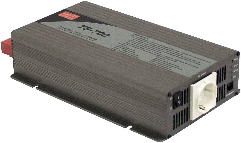 Menič napätia DC / AC Mean Well TS-700-212B, 700 W, 12 V/DC/700 W