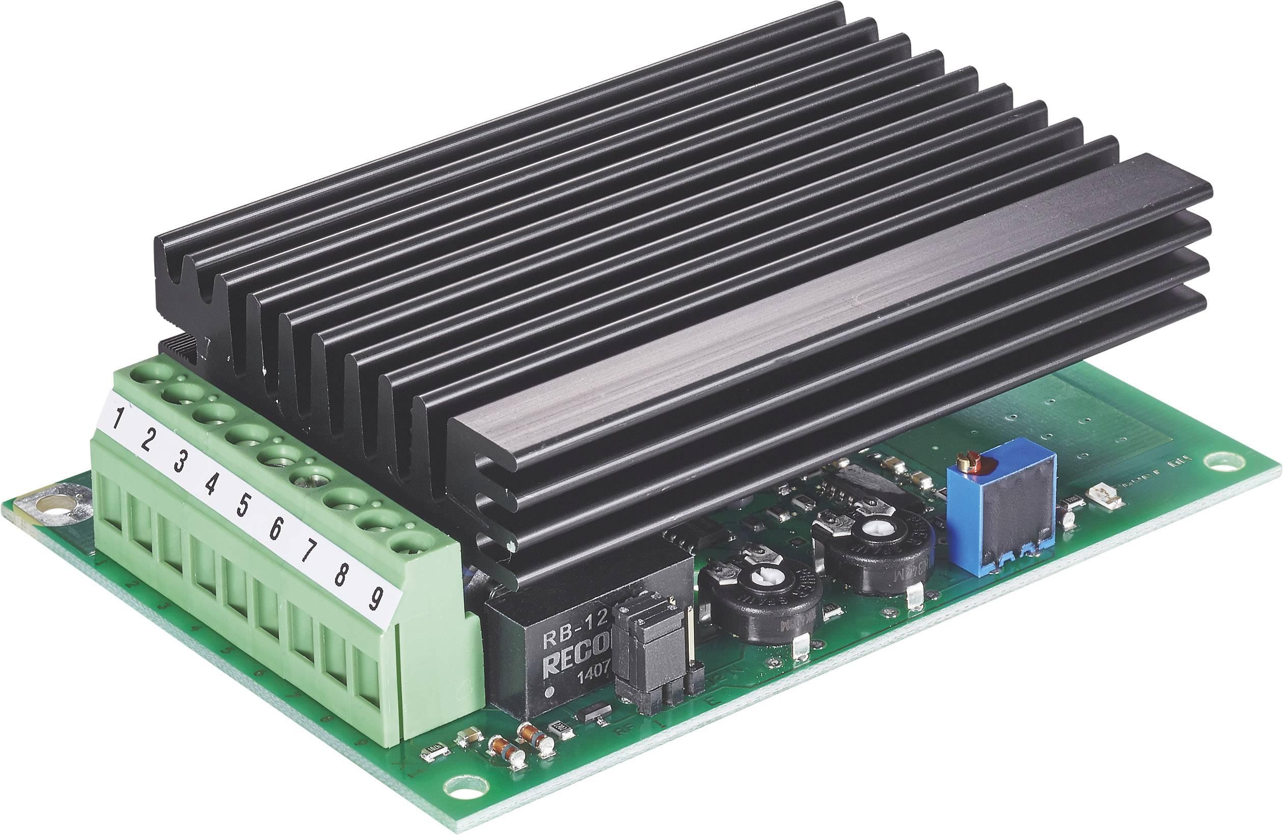 Regulátor otáčok pre DC motory EPH Elektronik GS24S/03/M 360B.03.2/2221, 3 A, 24 V/DC