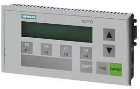 SIEMENS TEXTOVÝ DISPLEJ TD 200DC 20-53 V