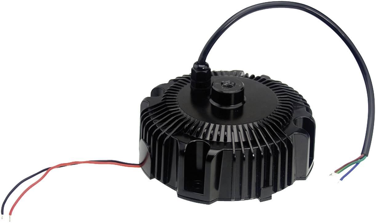 LED driver, napájací zdroj pre LED Mean Well HBG-160-24A, 156 W (max), 6.5 A, 12 - 24 V/DC