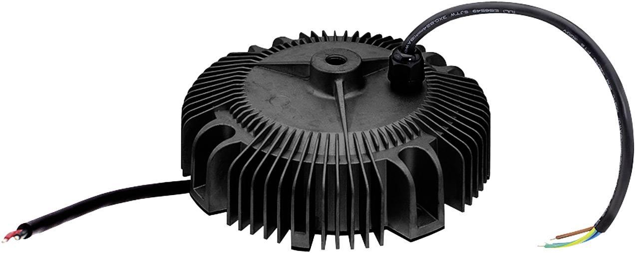 LED driver, napájací zdroj pre LED Mean Well HBG-240-24A, 240 W (max), 10 A, 12 - 24 V/DC