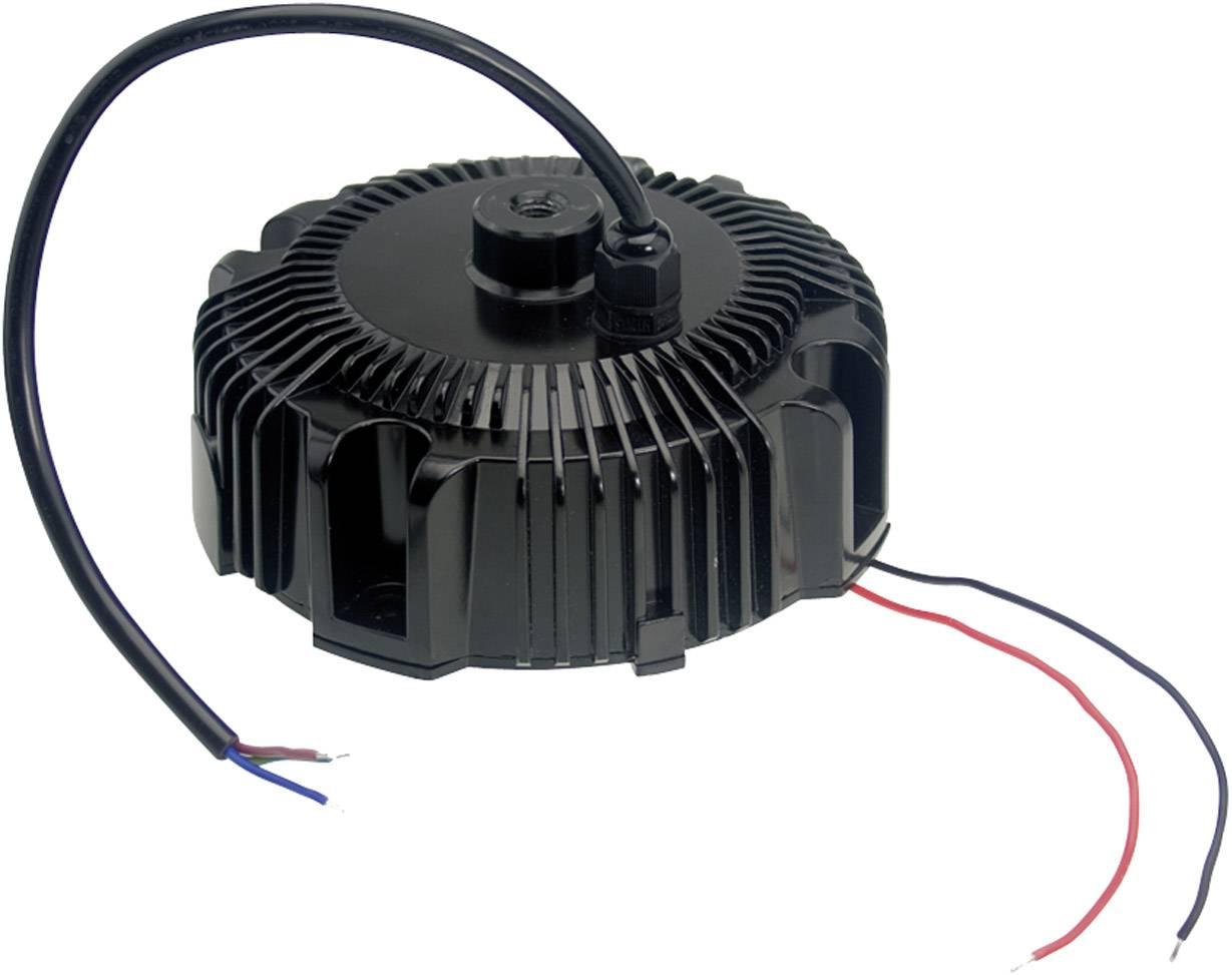 LED driver, napájací zdroj pre LED Mean Well HBG-100-24A, 96 W (max), 4 A, 12 - 24 V/DC