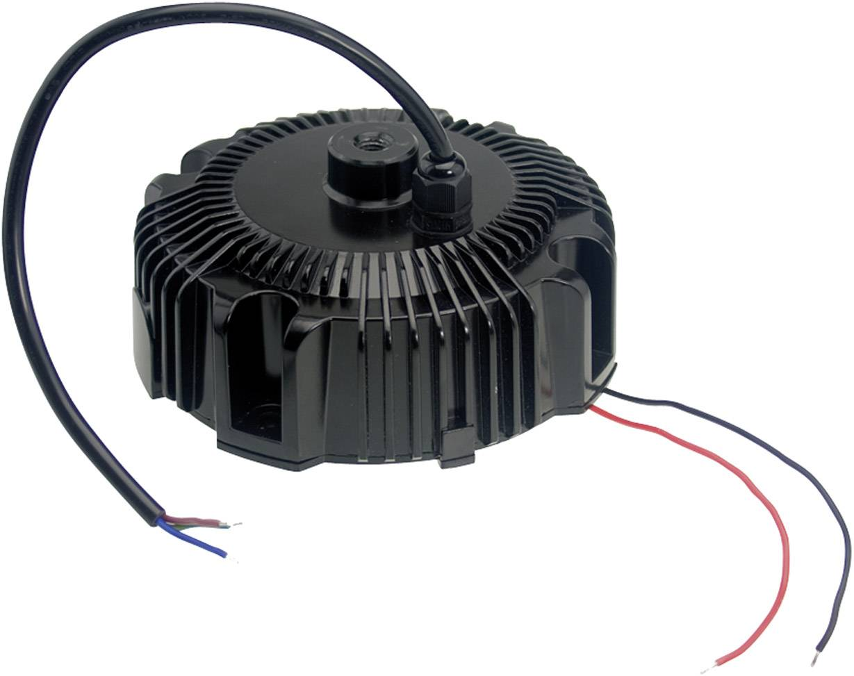 LED driver, napájací zdroj pre LED Mean Well HBG-100-36A, 97 W (max), 2.7 A, 21.6 - 36 V/DC