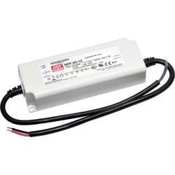 LED driver, napájací zdroj pre LED konštantné napätie, konštantný prúd Mean Well NPF-90D-54, 90 W (max), 1.67 A, 32.4 - 54 V/DC