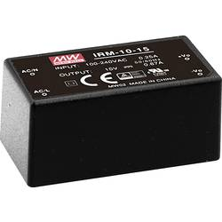 Sieťový zdroj AC/DC do DPS Mean Well IRM-10-12, 12 V/DC, 0.85 A, 10 W