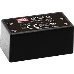 Sieťový zdroj AC/DC do DPS Mean Well IRM-10-24, 24 V/DC, 0.42 A, 10 W