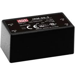 Sieťový zdroj AC/DC do DPS Mean Well IRM-05-3.3, 3.3 V/DC, 1.25 A, 4.1 W