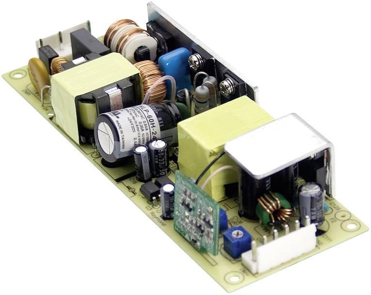 AC/DC vestavný zdroj, open frame Mean Well HLP-60H-48, 48 V/DC, 1.3 A