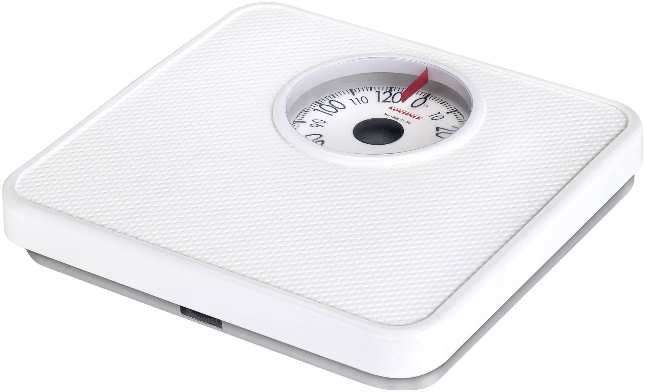Analogová osobní váha Soehnle PWA Tempo, bílá