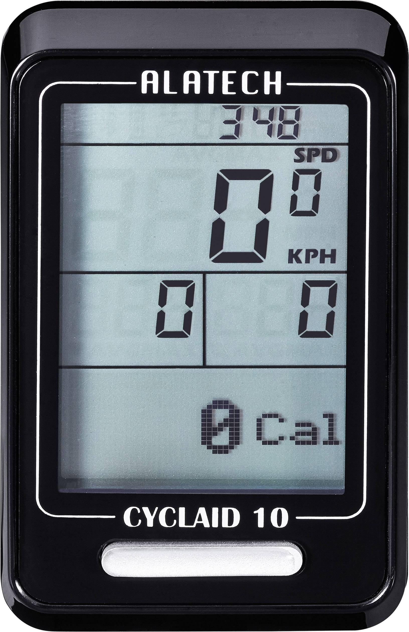 Bezkáblový cyklocomputer Alatech Cyclaid 10 s Bluetooth