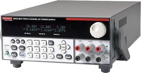 Programovatelný laboratorní zdroj Keithley 2231A-30-3, 30 V, 3 A, 195 W, 3x výstup