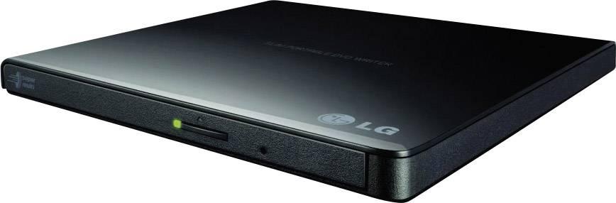 Externí DVD vypalovačka LG Electronics GP57EB40 Retail USB 2.0 černá