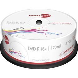 DVD-R 4.7 GB Primeon 2761205, možnosť potlače, 25 ks, vreteno