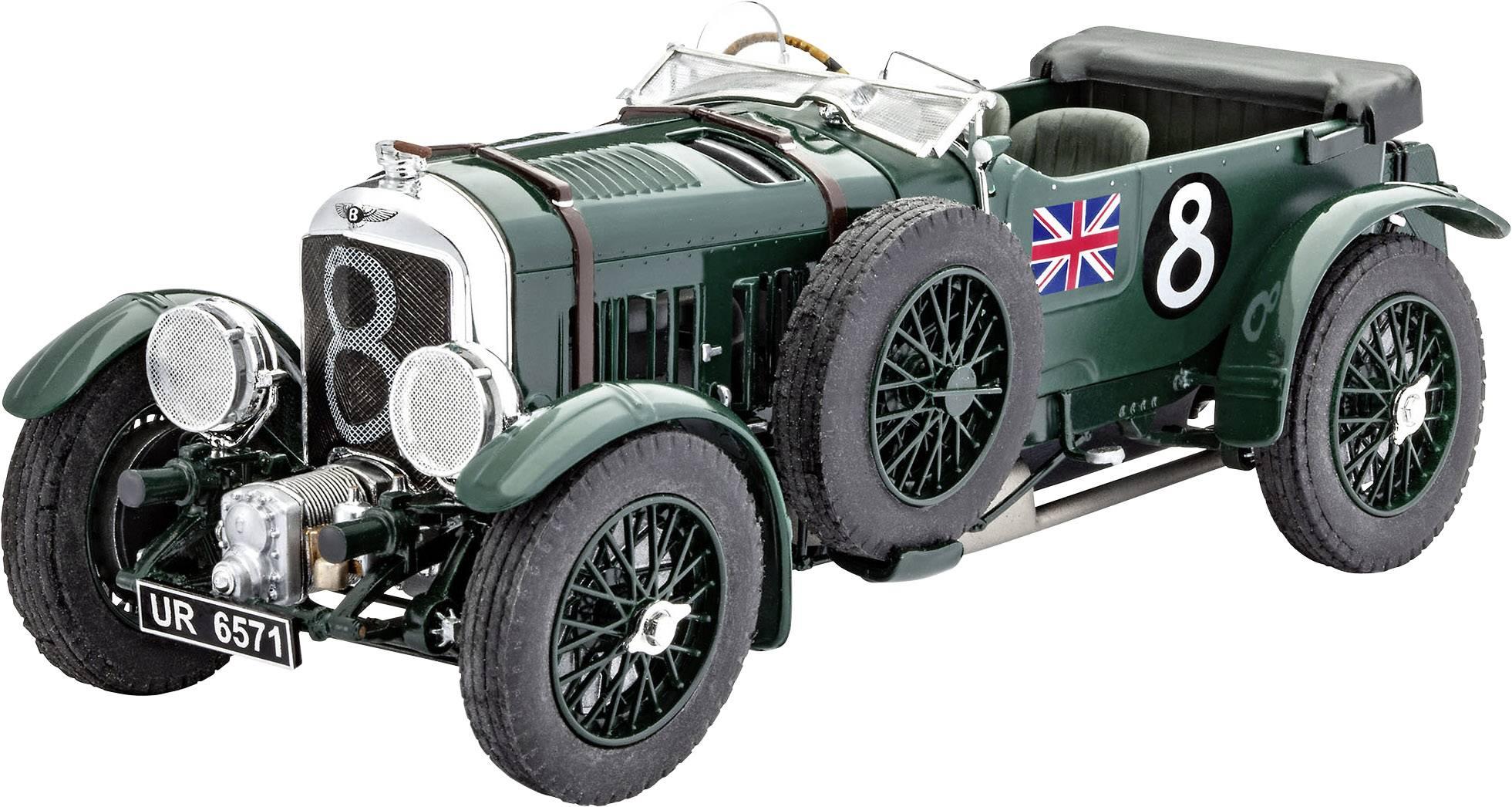 Model auta, stavebnica Revell Bentley 4,5 L Blower 7007, 1:24
