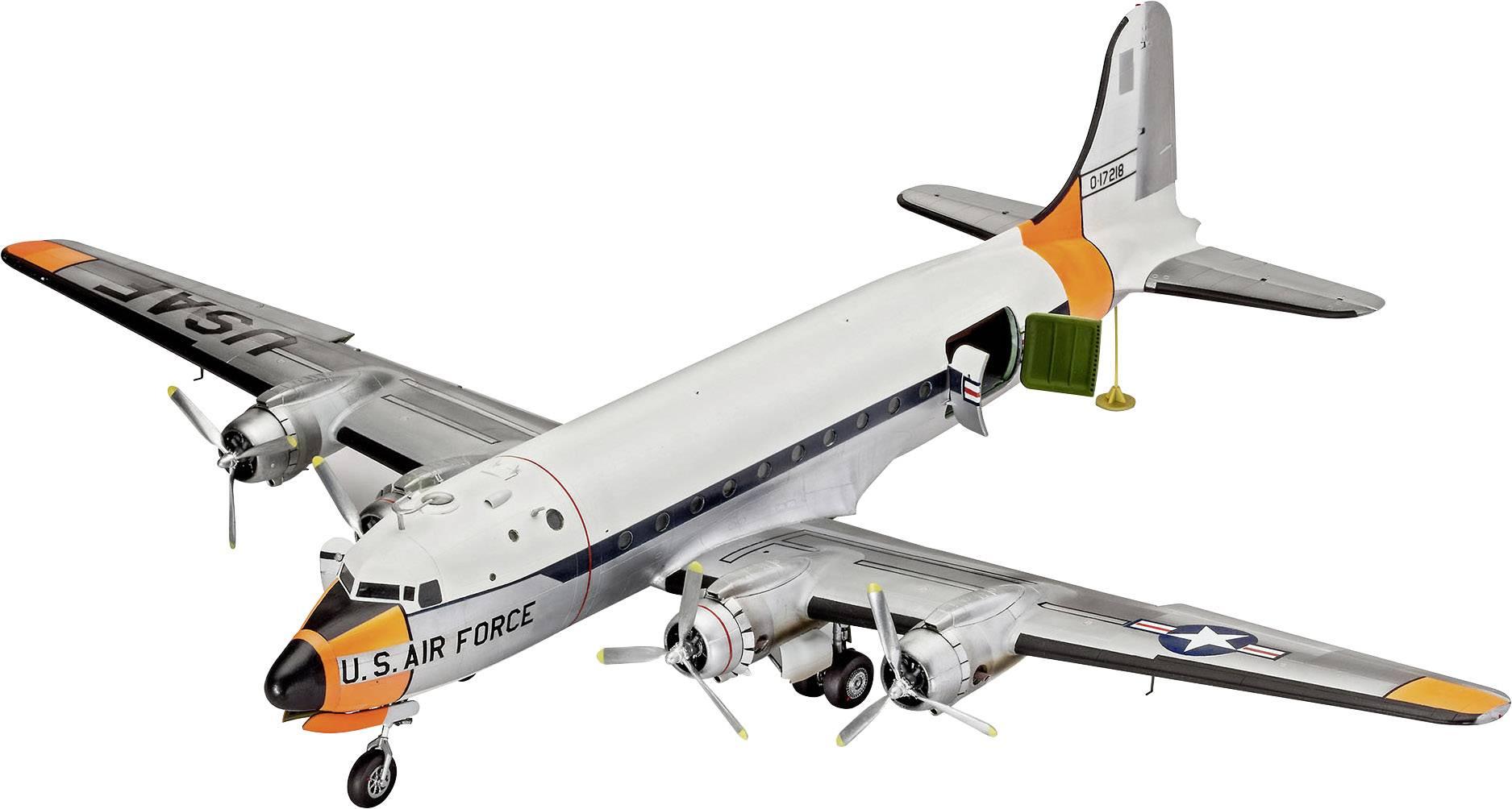 Model lietadla, stavebnica Revell C-54 Skymaster 4877, 1:72