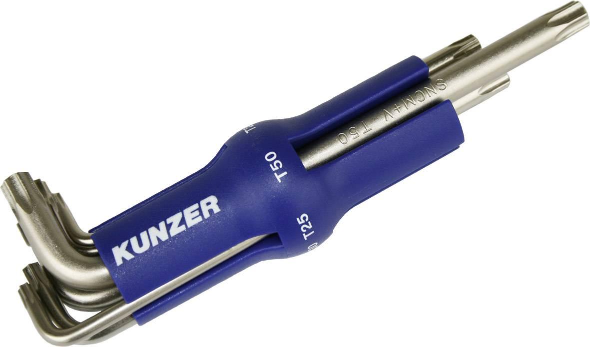 Sada kľúčov TORX Kunzer 7TXS08, T10H/T15H/T20H/T25H/T30H/T40H/T45H/T50H, 8 ks