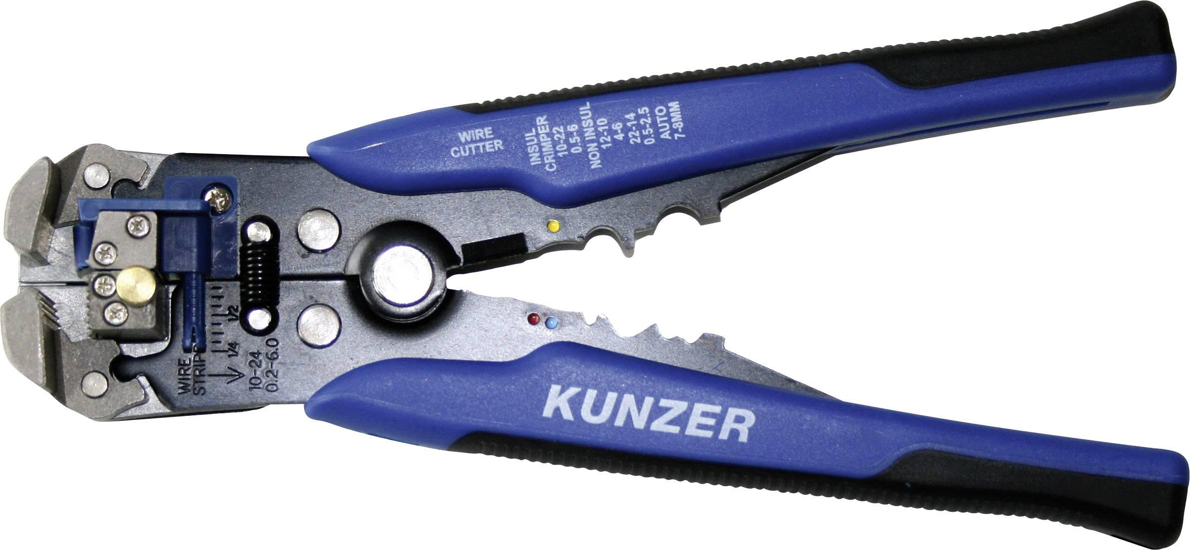 Krimpovací kleště a kleště na odstranění izolace Kunzer 7AIZ01, průřez AWG mm