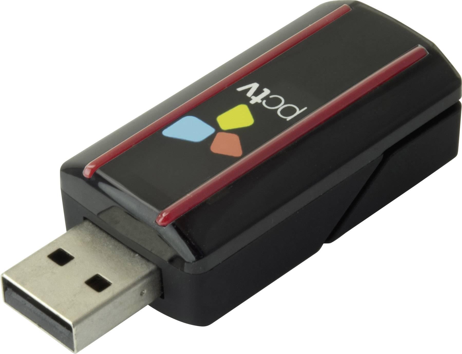 USB TV tuner DVB-T PCTV Systems Triple Stick funkcia záznamu, s diaľkovým ovládaním, s DVB-T anténou
