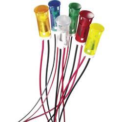 Indikačné LED APEM QS63XXO12, QS63XXO12, 12 V/DC, oranžová