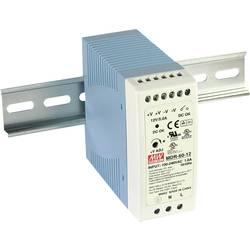 Sieťový zdroj na DIN lištu Mean Well MDR-60-24 24 V / DC 2.5 A 60 W 1 x