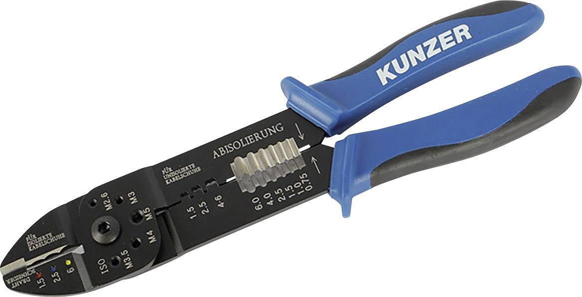 Krimpovacie kliešte Kunzer 7KSZ01, 1.5 do 6 mm²
