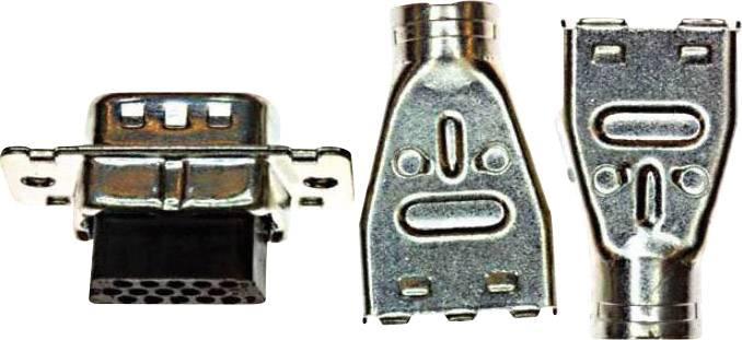 D-SUB kolíková lišta TE Connectivity AMPLIMITE HD-22, pólů 62, krimpované, 1 ks