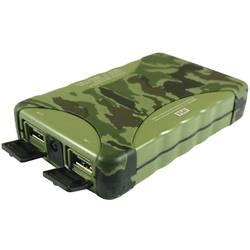 Powerbanka Beltrona Camouflage 10400, Li-Ion akumulátor 10400 mAh, maskáčová