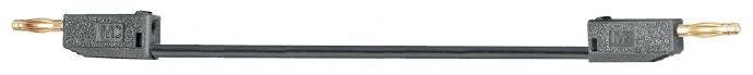 Merací kábel Multicontact LK205-X, 2 mm, 0.3 m, modrý