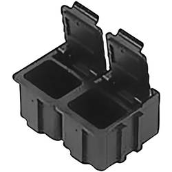 ESD SMD box vodivý Bernstein 9-321-VE10, (d x š x v) 16 x 12 x 15 mm