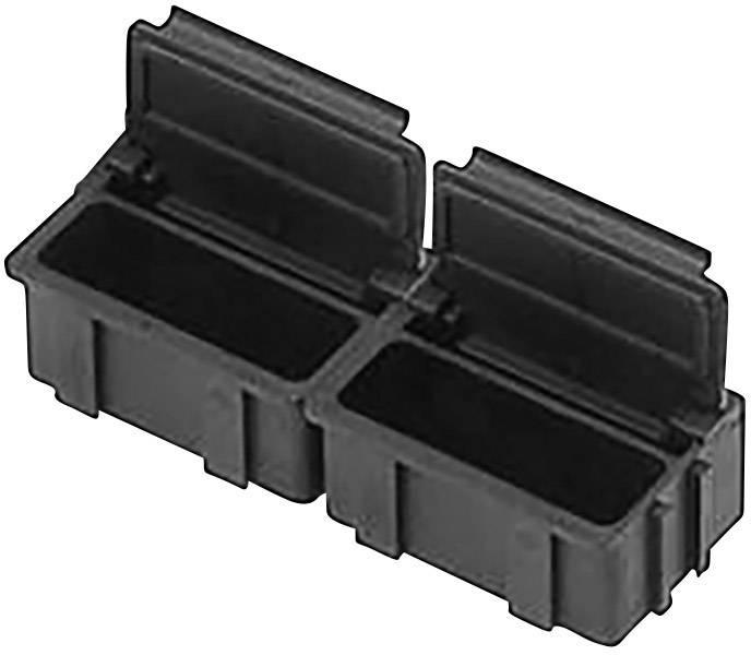ESD SMD box vodivý Bernstein 9-322/10, (d x š x v) 37 x 12 x 15 mm