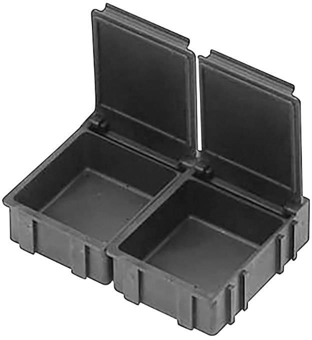 ESD SMD box vodivý Bernstein 9-323-VE10, (d x š x v) 41 x 37 x 15 mm