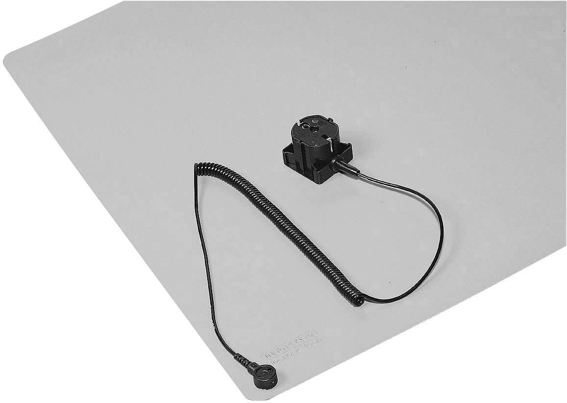 ESD podložky na stolík, sada Bernstein 9-367, (d x š) 450 mm x 600 mm