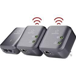Sada adaptérů Powerline Wi-Fi Renkforce PL500D, 500 MBit/s, Trio