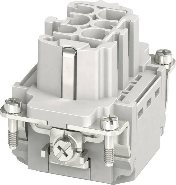 Sada konektorové zásuvky HC-B Phoenix Contact 1407727, 6 + PE, zásuvná svorka, 1 ks