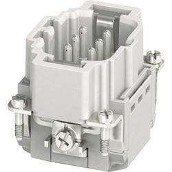 Vložka pinového konektora HC-B Phoenix Contact HC-B 06-I-PT-M 1407728, počet kontaktov 6 + PE, zásuvná svorka, 1 ks
