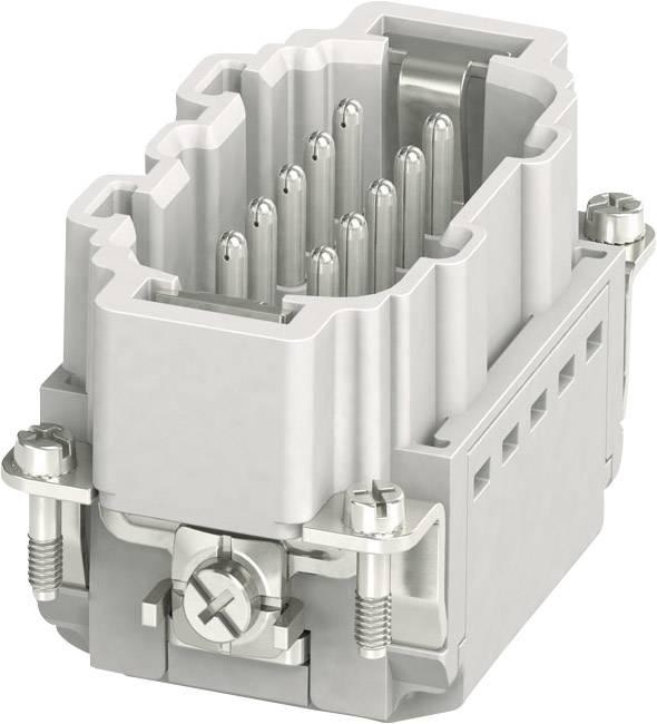 Vložka pinového konektoru Phoenix Contact 1407730, 10 + PE, zásuvná svorka, 1 ks