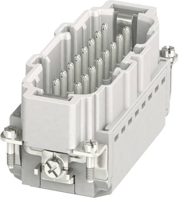 Vložka pinového konektoru HC-B 1407732 Phoenix Contact 16 + PE, zásuvná svorka, 1 ks