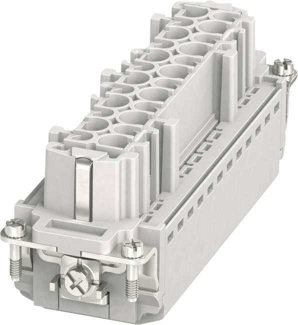 Sada konektorové zásuvky HC-B Phoenix Contact 1407735, 24 + PE, zásuvná svorka, 1 ks