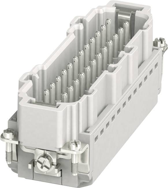 Vložka pinového konektora HC-B Phoenix Contact HC-B 24-I-PT-M 1407736, počet kontaktov 24 + PE, zásuvná svorka, 1 ks