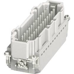 Vložka pinového konektoru HC-B 1407736 Phoenix Contact 24 + PE, zásuvná svorka, 1 ks