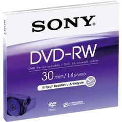 Mini DVD-RW- 8 cm 1.46 GB Sony DMW30AJ, prepisovateľné, 5 ks, Jewelcase