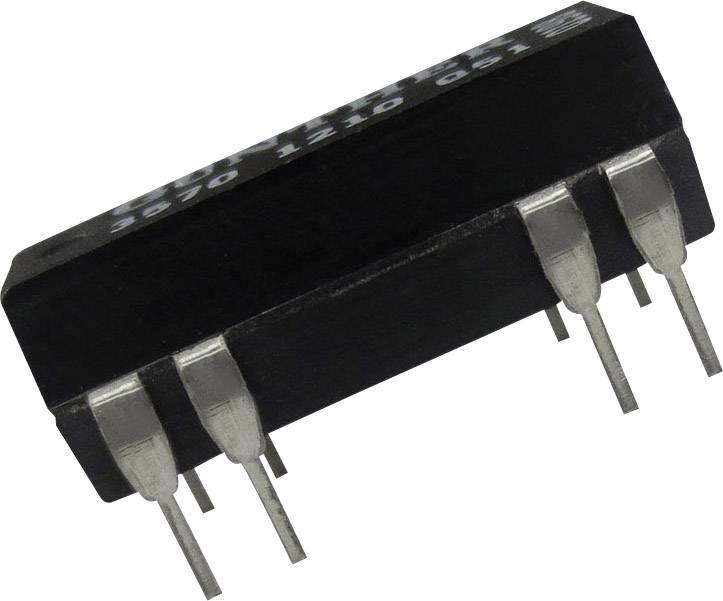 Relé s jazýčkovým kontaktem Comus 3572-1220-123, 3572-1220-123, 2 spínací kontakty, 12 V/DC, 0.5 A, 10 W, DIP-14