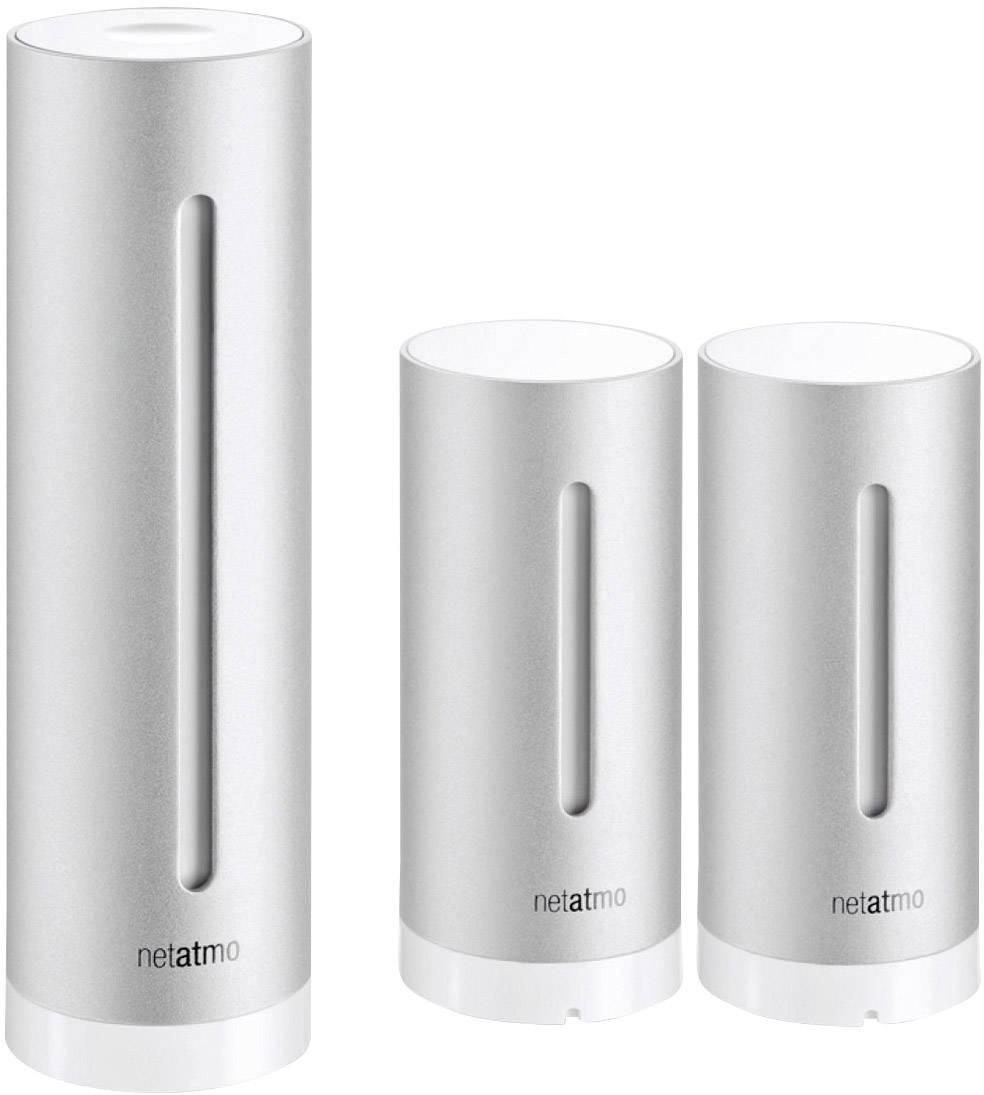 Meteostanice Netatmo NWS01 pro iOS a Android + přídavný vnitřní senzor NE1002ZZ, výhodná sada