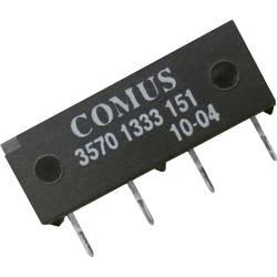 Relé s jazýčkovým kontaktem Comus 3570-1419-053, 3570-1419-053, 1 spínací kontakt, 5 V/DC, 1 A, 15 W, SIP-4