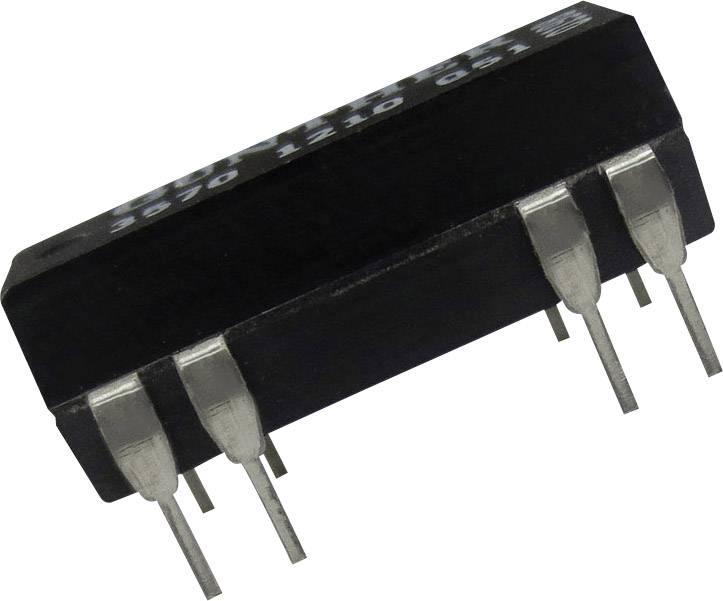 Relé s jazýčkovým kontaktem Comus 3570-1210-123, 3570-1210-123, 1 spínací kontakt, 12 V/DC, 0.5 A, 10 W, DIP-14