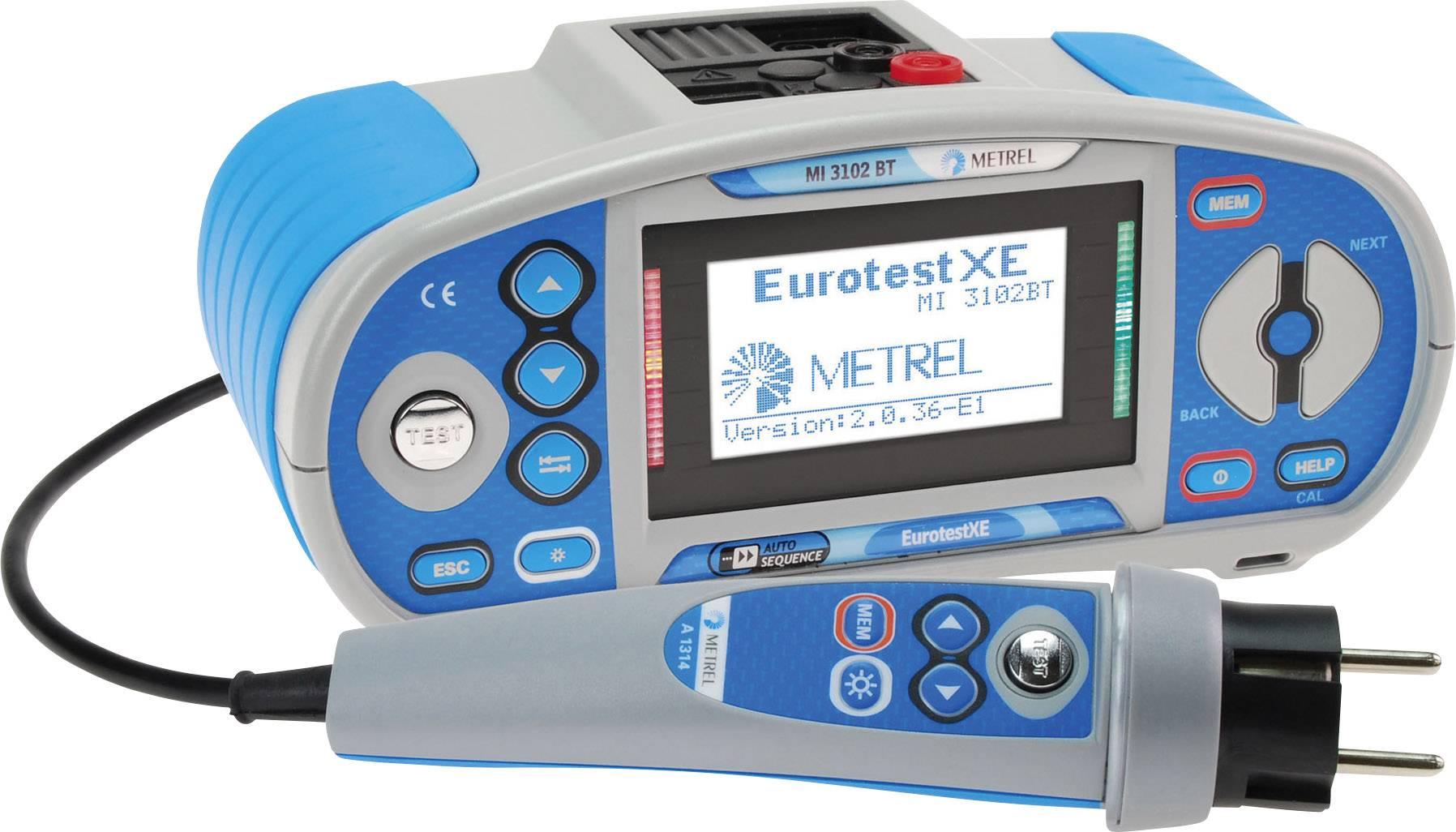 VDE tester Metrel MI 3102BT 20992129, kalibrace dle ISO