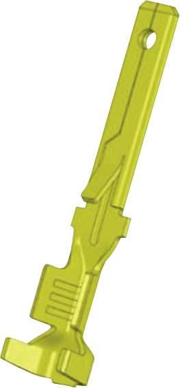 Faston konektor zástrčka Vogt Verbindungstechnik 3799z08.60 odolný proti vibráciám, 2.8 mm x 0.8 mm, neizolované, mosadz, 1 ks